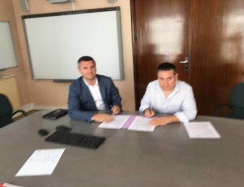 Signature convention SSIAD / HAD Centre Hospitalier Montluçon (M. PASSARIEU / M. DE FREITAS)